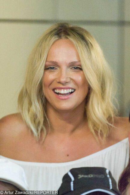 Joanna Liszowska w nowej fryzurze