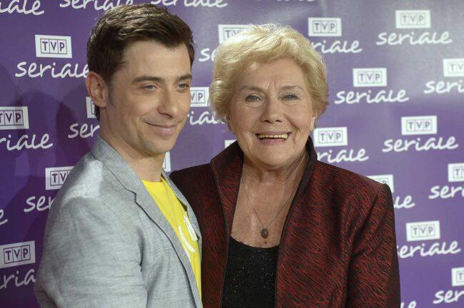 Kacper Kuszewski i Teresa Lipowska