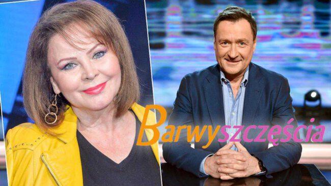 """Izabela Trojanowska i Jacek Kawalec w """"Barwach szczęścia"""""""