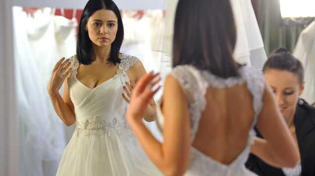 Adriana Kalska jako panna młoda w M jak miłość