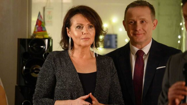 M jak miłość - Marysia (Małgorzata Pieńkowska), Artur (Robert Moskwa)