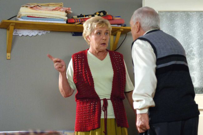 M jak miłość, Lucjan Mostowiak (śp. Witold Pyrkosz), Barbara (Teresa Lipowska)