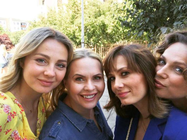 Przyjaciółki 14 sezon, Zuza (Anita Sokołowska), Anka (Magdalena Stużyńska), Inga (Małgorzata Socha)