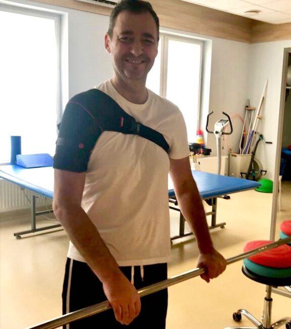Jacek Rozenek wraca do zdrowia