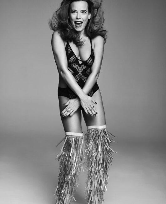 Anna Mucha wystylizowana na Beyonce