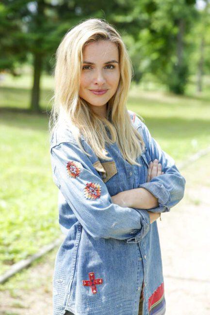 Marta Żmuda Trzebiatowska jako Blondynka