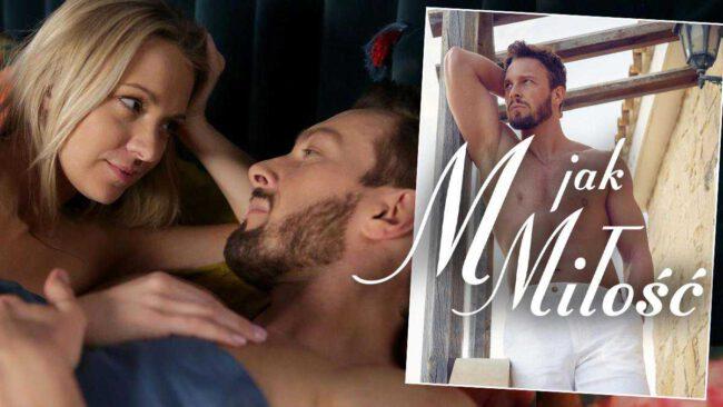 """Nowy romans w """"M jak miłość""""? Leszek (Sławomir Uniatowski) uwiedzie Marzenkę (Olga Szomańska)!"""