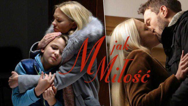 """Intryga w """"M jak miłość"""". Wojtuś i Michał zniszczą nowy związek Joasi Chodakowskiej?"""