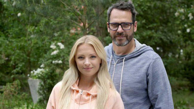 M jak miłość, Joasia (Barbara Kurdej-Szatan) i Michał (Paweł Deląg)