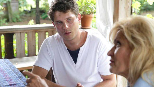 M jak miłość, Janek (Tomas Kollarik), Weronika (Ewa Kasprzyk)