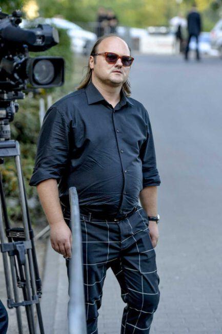 Sebastian Stankiewicz – pogrzeb Piotra Woźniaka-Staraka