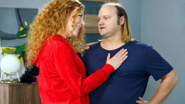 Barwy szczęścia, Gawron (Sebastian Stankiewicz), Żabcia (Hanna Klepacka)