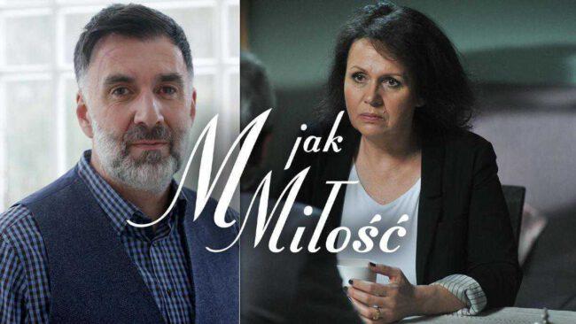M jak miłość, Kamil Starski (Radosław Krzyżowski), Marysia (Małgorzata Pieńkowska)