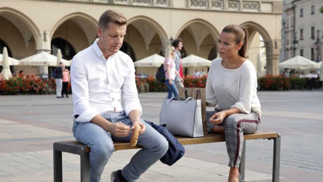 M jak miłość, Paweł (Rafał Mroczek), Magda (Anna Mucha)