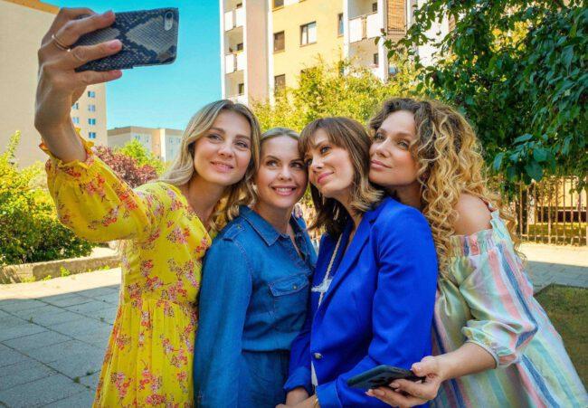 Serial Przyjaciółki - Inga, Anka, Zuza i Patrycja