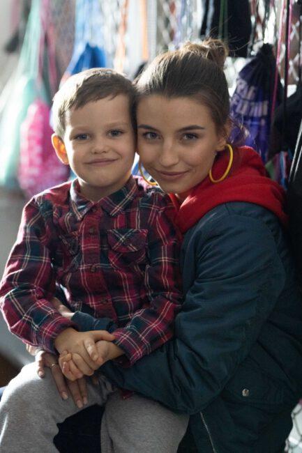 Zawsze warto - Ada (Julia Wieniawa) i syn Dorian (Kamil Jaroszewski)