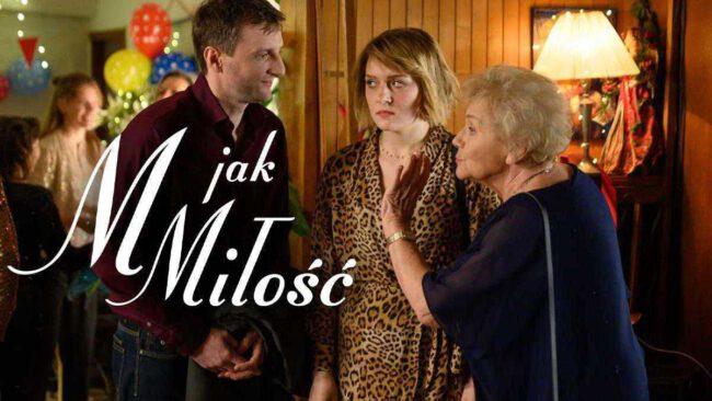 M jak miłość - Barbara (Teresa Lipowska), Ula (Iga Krefft), Bartek (Arkadiusz Smoleński)