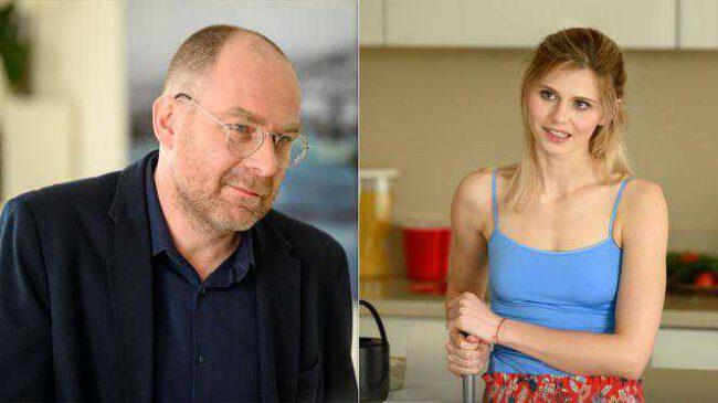 Barwy szczęścia - Iwona (Izabela Zwierzyńska), Marek (Marcin Perchuć)