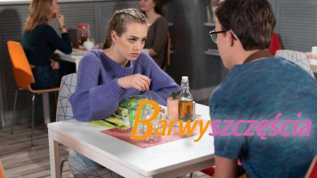 Barwy szczęścia (odc. 2117): Oliwka i Kajtek gwiazdami reality show! Justin wróży im wielką karierę