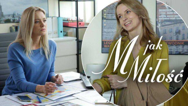 M jak miłość (odc. 1453): Nina zniszczy związek Asi i Leszka? Była kochanka Krajewskiego zacznie nachodzić Chodakowską