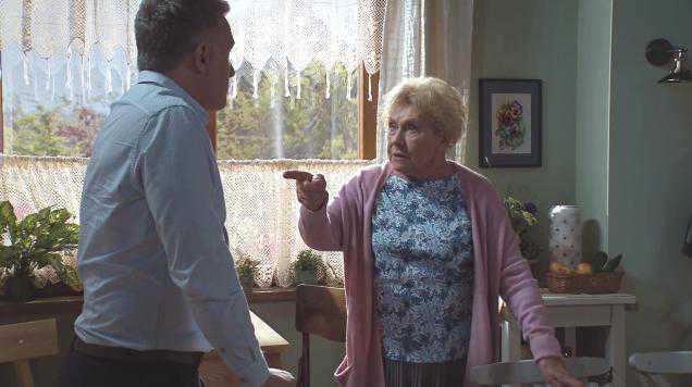 M jak miłość odcinek 1457, Barbara (Teresa Lipowska), Artur (Robert Moskwa)