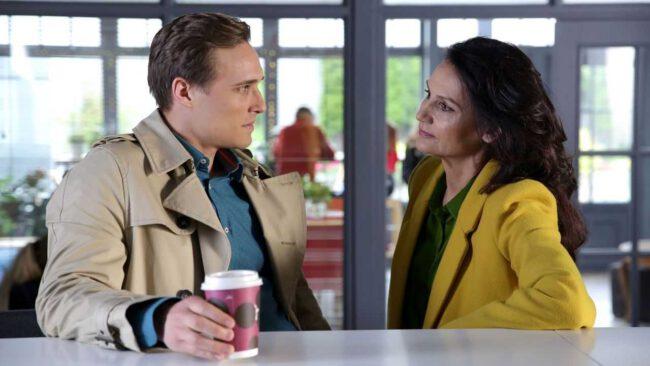M jak miłość - czy Olek (Maurycy Popiel) przyzna, że zamordował Artura Skalskiego (Tomasz Ciachorowski)?