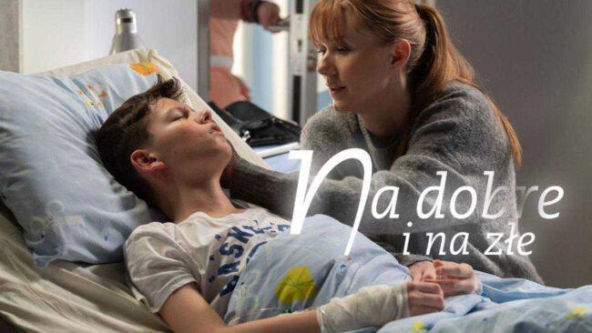 """Śmierć w """"Na dobre i na złe"""". Anna Wilson umrze na oczach syna! Wiki nie zdoła jej uratować"""