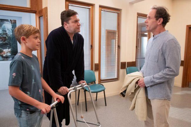 Na Wspólnej, Andrzej (Tomasz Schimscheiner), Michał (Robert Kudelski), Ignaś (Bartek Kaszuba)