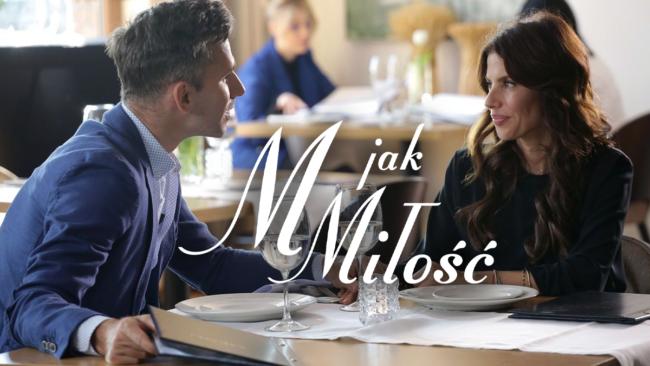 M jak miłość odcinek 1462, Kamil (Marcin Bosak), Anka (Weronika Rosati)