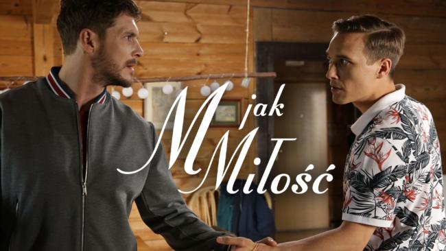 M jak miłość, Olek (Maurycy Popiel), Marcin (Mikołaj Roznerski)