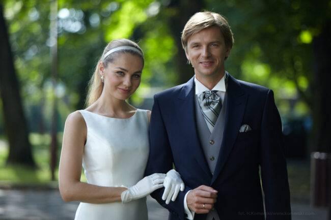 Małgorzata Socha i Adam Adamonis