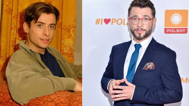 """""""M jak miłość"""" Marek Mostowiak (Kacper Kuszewski) kiedyś i dziś"""