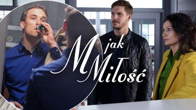 M jak miłość, Olek (Maurycy Popiel), Marcin (Mikołaj Roznerski), Aleksandra (Małgorzata Pieczyńska)