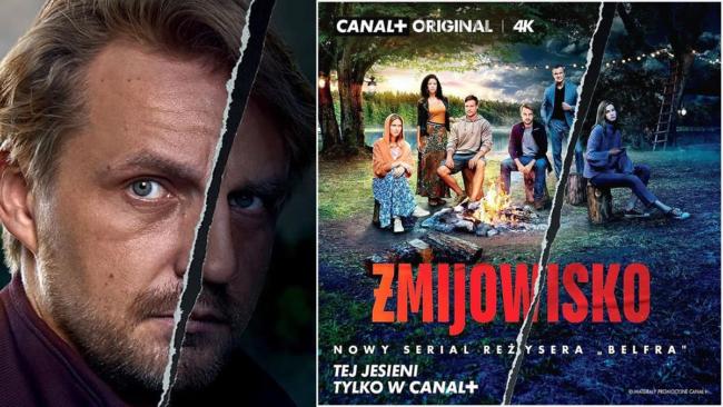 Żmijowisko: Już jest zwiastun nowego serialu Canal+. Mroczne, prywatne śledztwo wciągnie miliony widzów