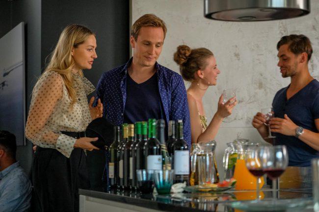 Przyjaciółki odcinek 168, Inga (Małgorzata Socha), Maks (Mateusz Janicki)