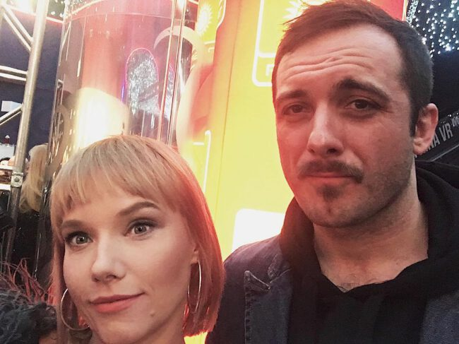 Roma Gąsiorowska i Michał Żurawski