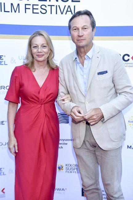 Piotr Cyrwus, Maja Cyrwus, fot. AKPA