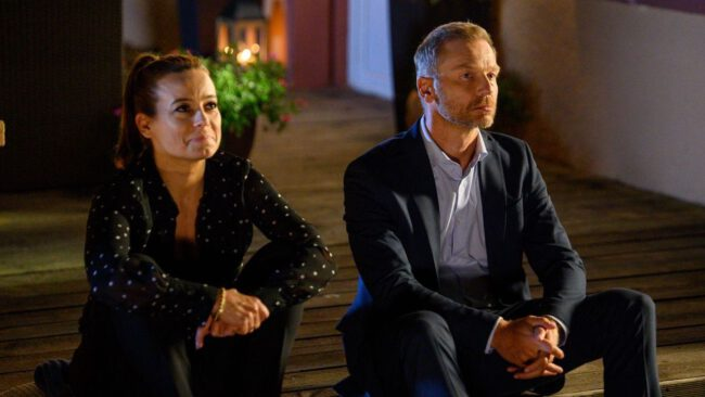 M jak miłość, Magda (Anna Mucha), Andrzej (Krystian Wieczorek)