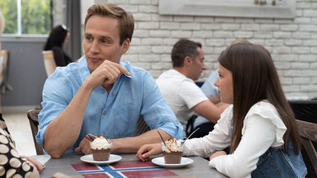 Na dobre i na złe odc 757, Matylda (Amelia Czaja), Michał (Mateusz Janicki)