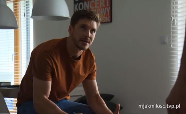 M jak miłość odcinek 1469, Marcin (Mikołaj Roznerski)
