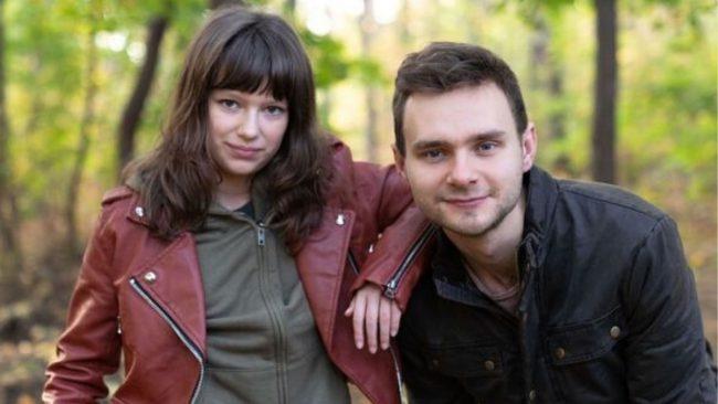 Na dobre i na złe odcinek 764 Amelia Czaja (Matylda) Marek Zawadzki (Olo)