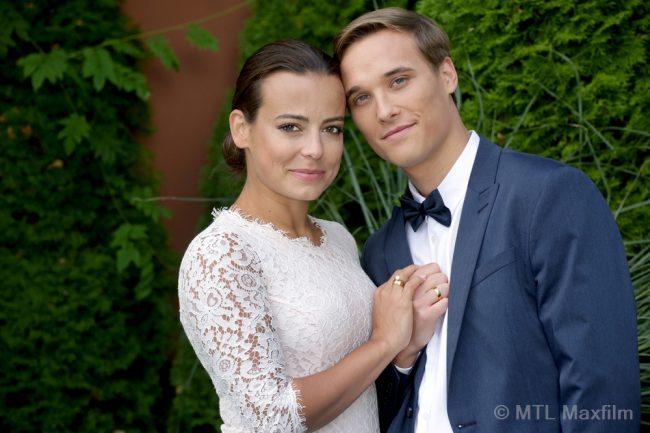M jak miłość, ślub Magdy (Anna Mucha) i Olka (Maurycy Popiel)