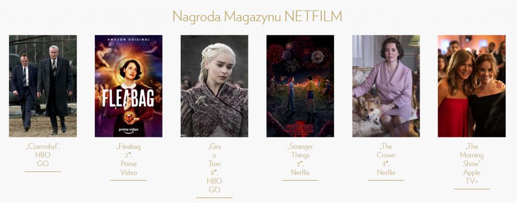Nagroda Magazynu NETFILM - Telekamery 2020
