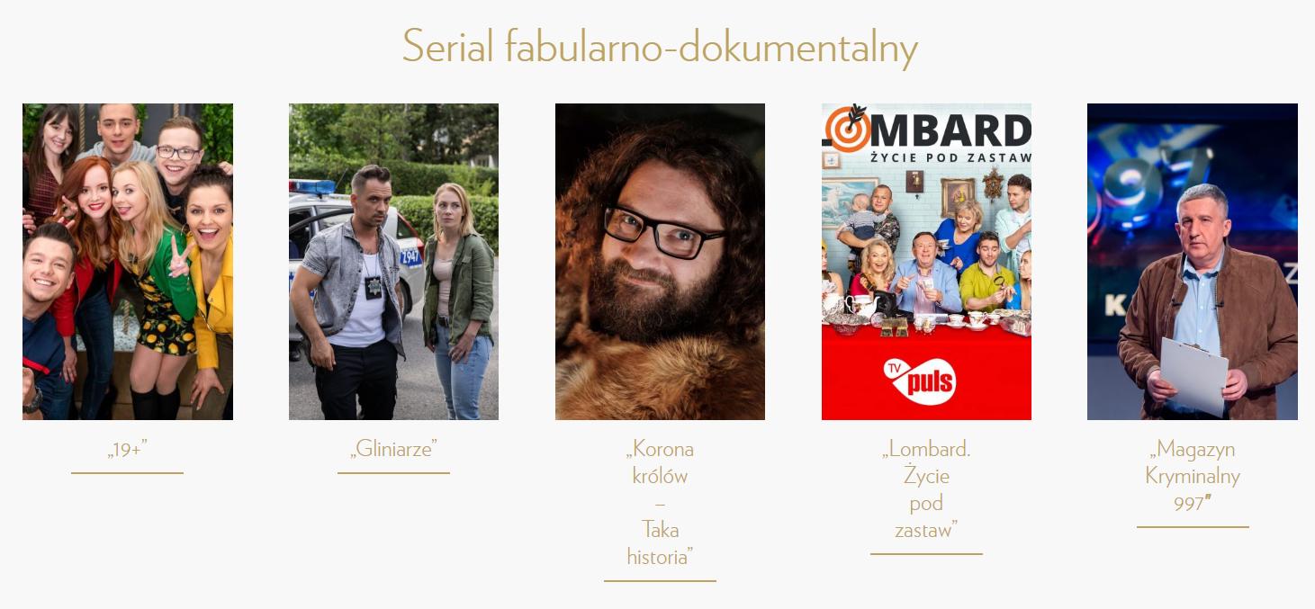 TELEKAMERY 2020 SERIAL fabularno-dokumentalny