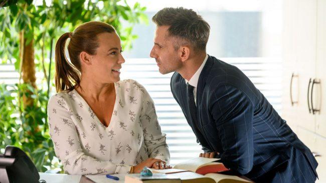 M jak miłość, Magda (Anna Mucha), Kamil (Marcin Bosak)