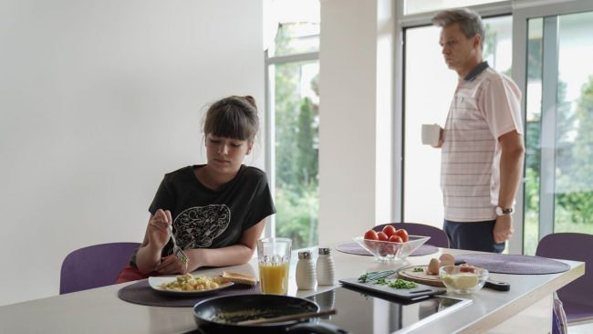Na dobre i na złe, Falkowicz (Michał Żebrowski), Matylda (Amelia Czaja)