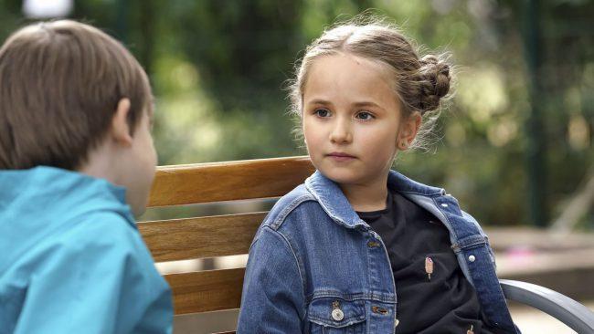 Barwy szczęścia odc 2151, Ksawery (Bartosz Gruchot), Lenka (Paulina Jastrzębska),