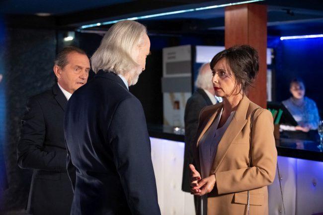 Na Wspólnej odcinek 3010, Iza (Anna Korcz), Jerzy (Wojciech Wysocki) fot. X-NEWS