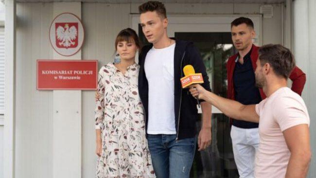 Barwy szczęścia (odc. 2186) Katarzyna Sawczuk (Jaulita), Patryk Pniewski (Józek),Andrzej Niemyt (Darek)