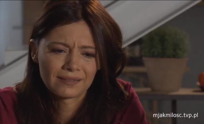 M jak miłość odcinek 1482 Iza (Adriana Kalska)